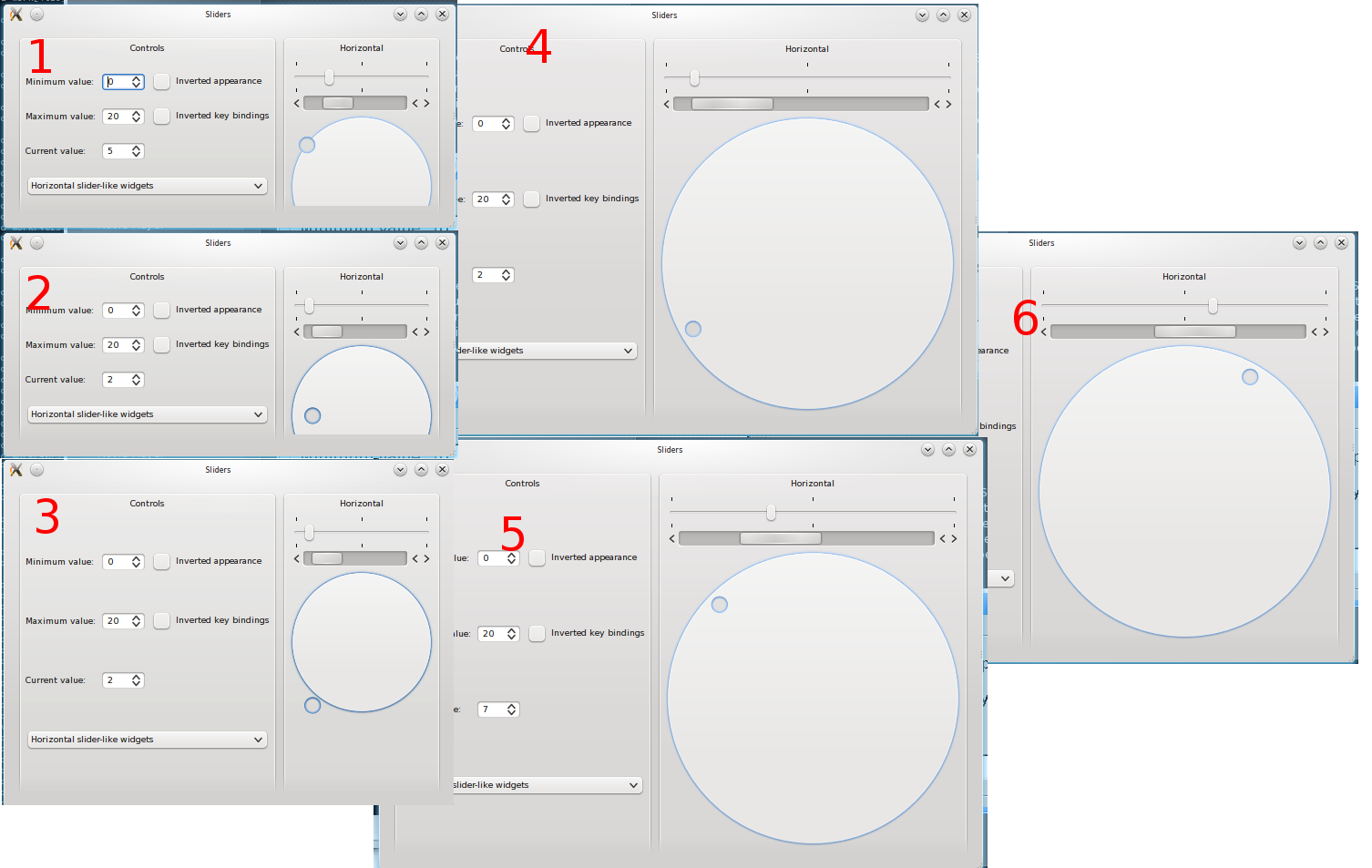 how to draw a circle in qt