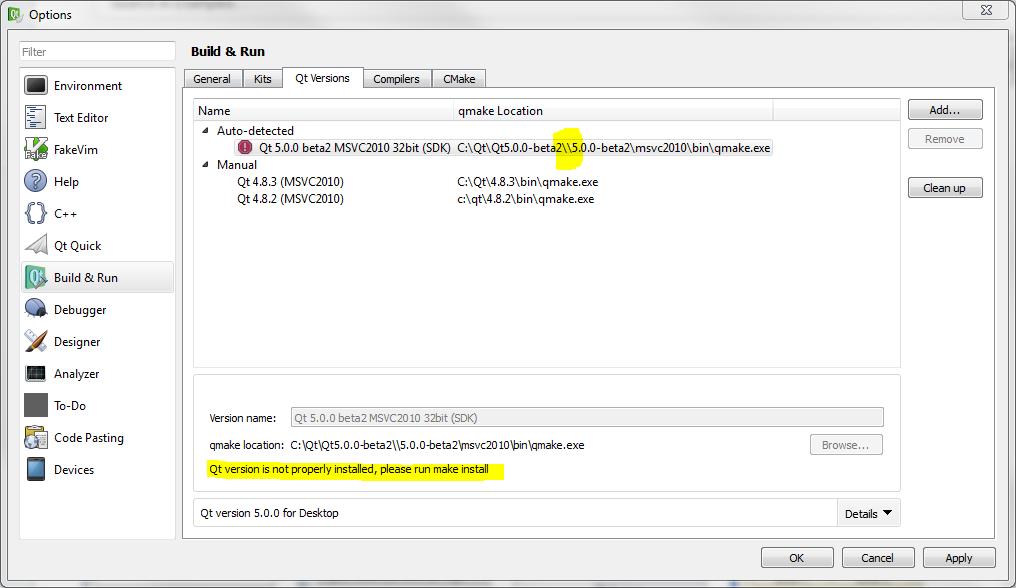 QTBUG-27976] Qt5 0 beta2 Installation failed on Windows 7