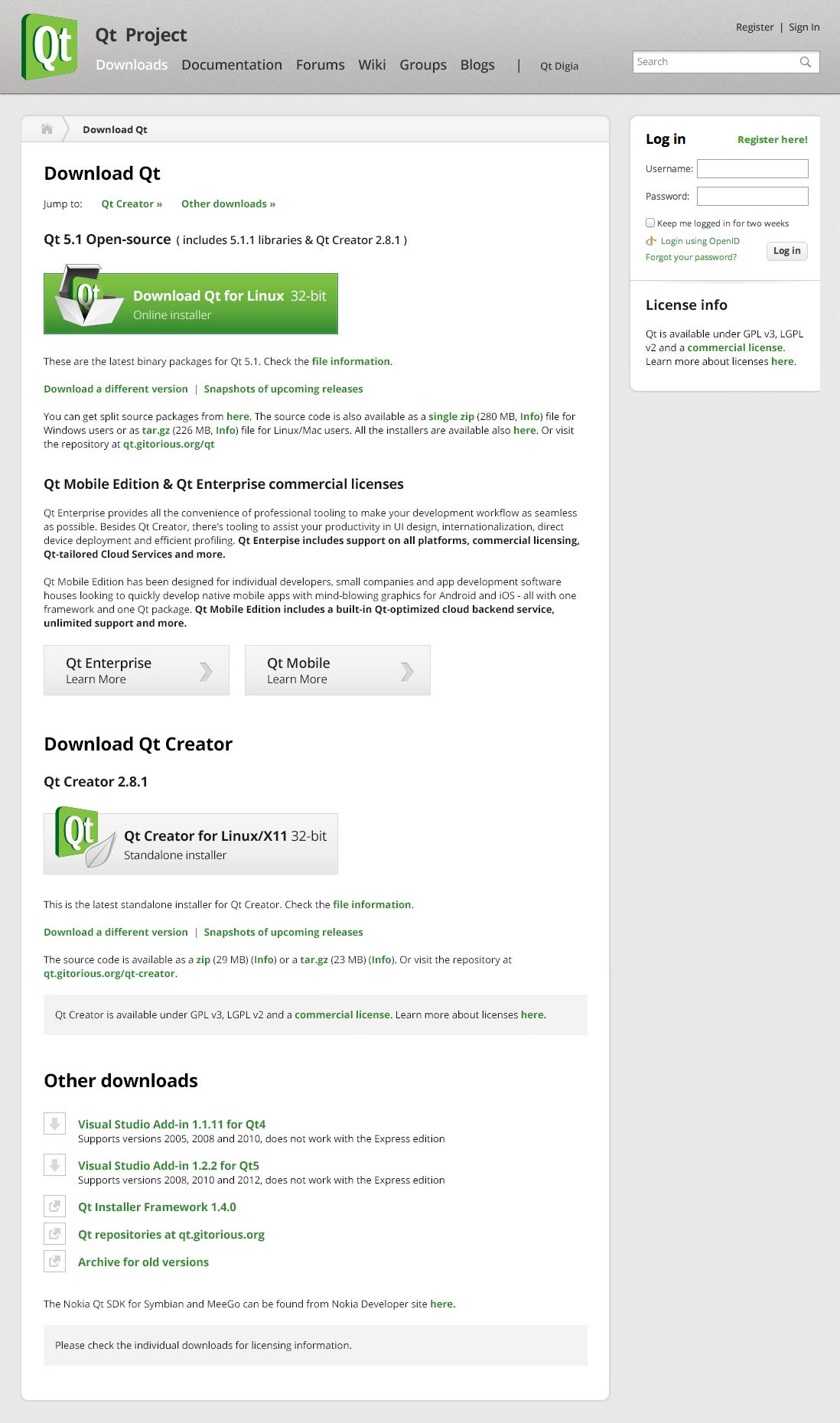 QTWEBSITE-543] Download page redesign - Qt Bug Tracker