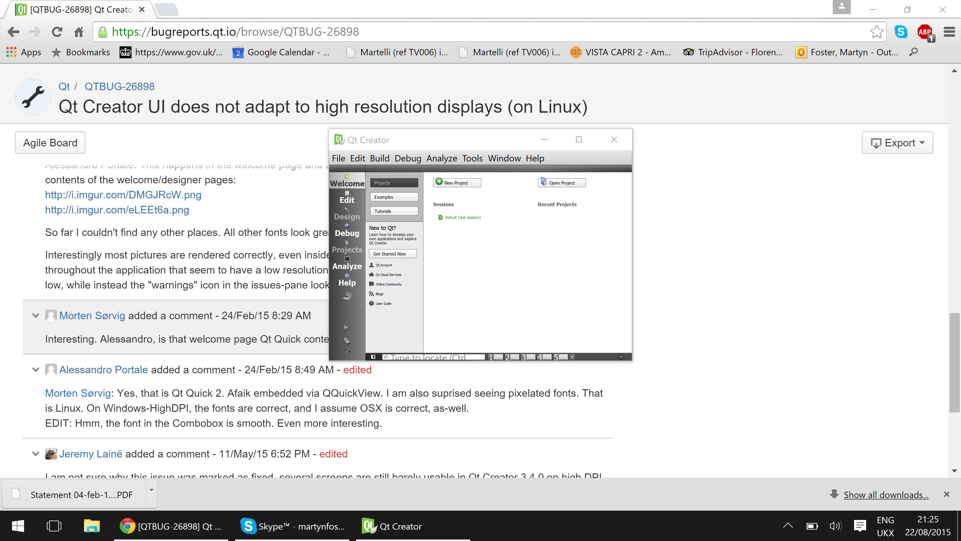 QTBUG-26898] Qt Creator UI does not adapt to high resolution