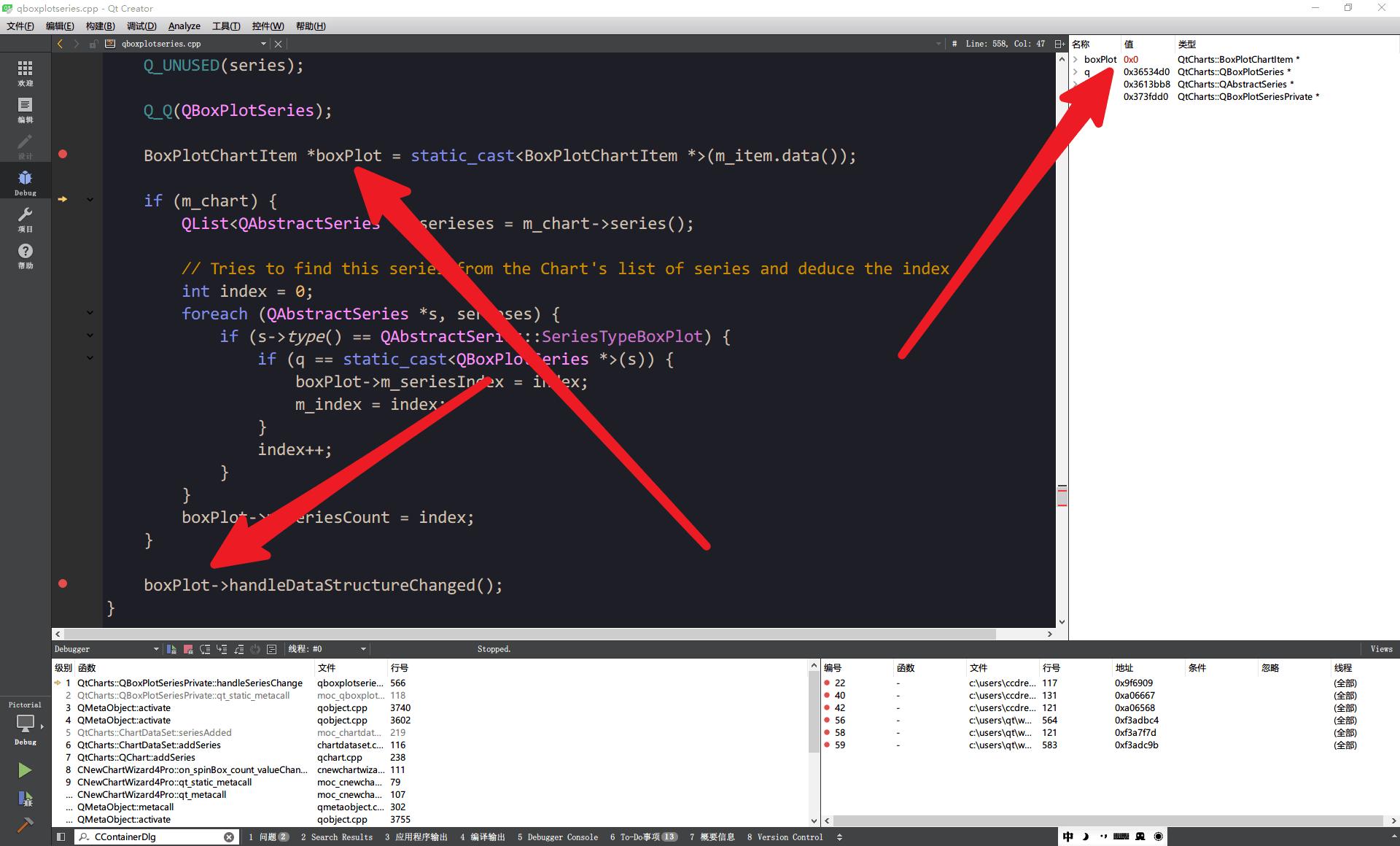 QTBUG-55278] crashes when adding series fast - Qt Bug Tracker