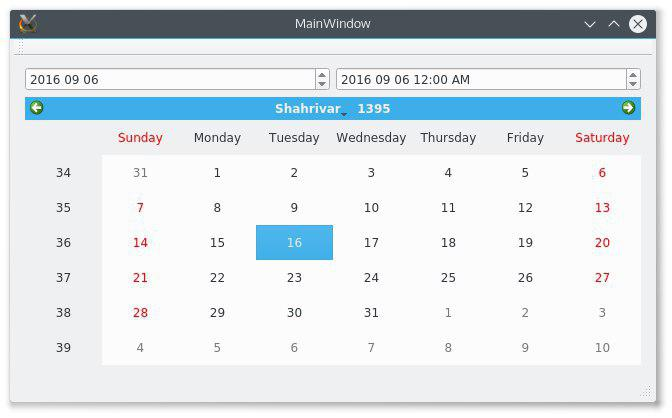 QTBUG-58404] Add support for Calendar System other than