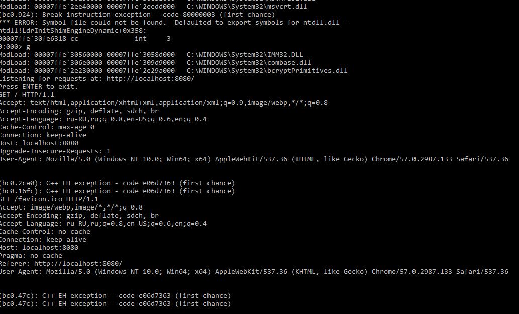 QTCREATORBUG-17779] qtcreatorcdbext CDB's plugin crashes the