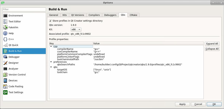 QBS-1210] Unable to build any product on Ubuntu (execvp: No
