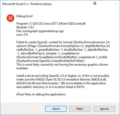 QTBUG-64545] Crash when using SoftwareRasterizer in QtQuick