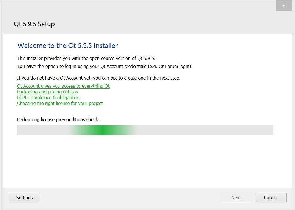 Qt Offline Installer