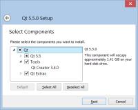Qt 5.5.0 RC installer - Qt Creator version error.png