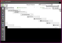 5 - Resizing Qt Creator in a virtual Linux.png