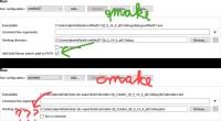 CmakeRunConfigurationMissesAddLibrarySearchPath.png